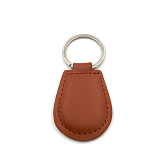 Number22 RFID Leather Keyfob Oval