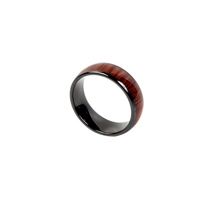 Ceramic NFC Finger Ring